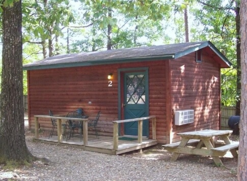 Economy Cabin Rental Beavers Bend
