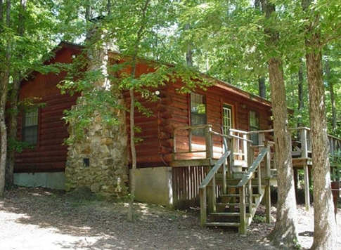 1 Bedroom Cabin Rental Beavers Bend